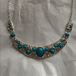 Turquoise look Necklace